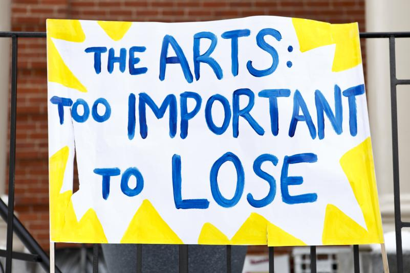 arts programs cut