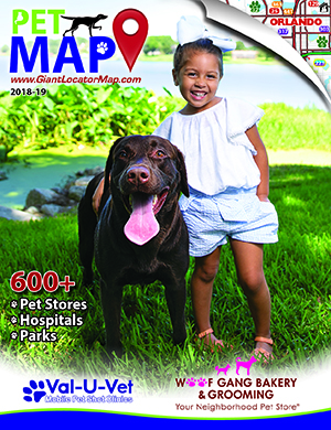 Map cover of Pet Map of Central Florida