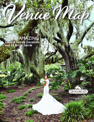 Map cover of Wedding Venues Map of Central Florida
